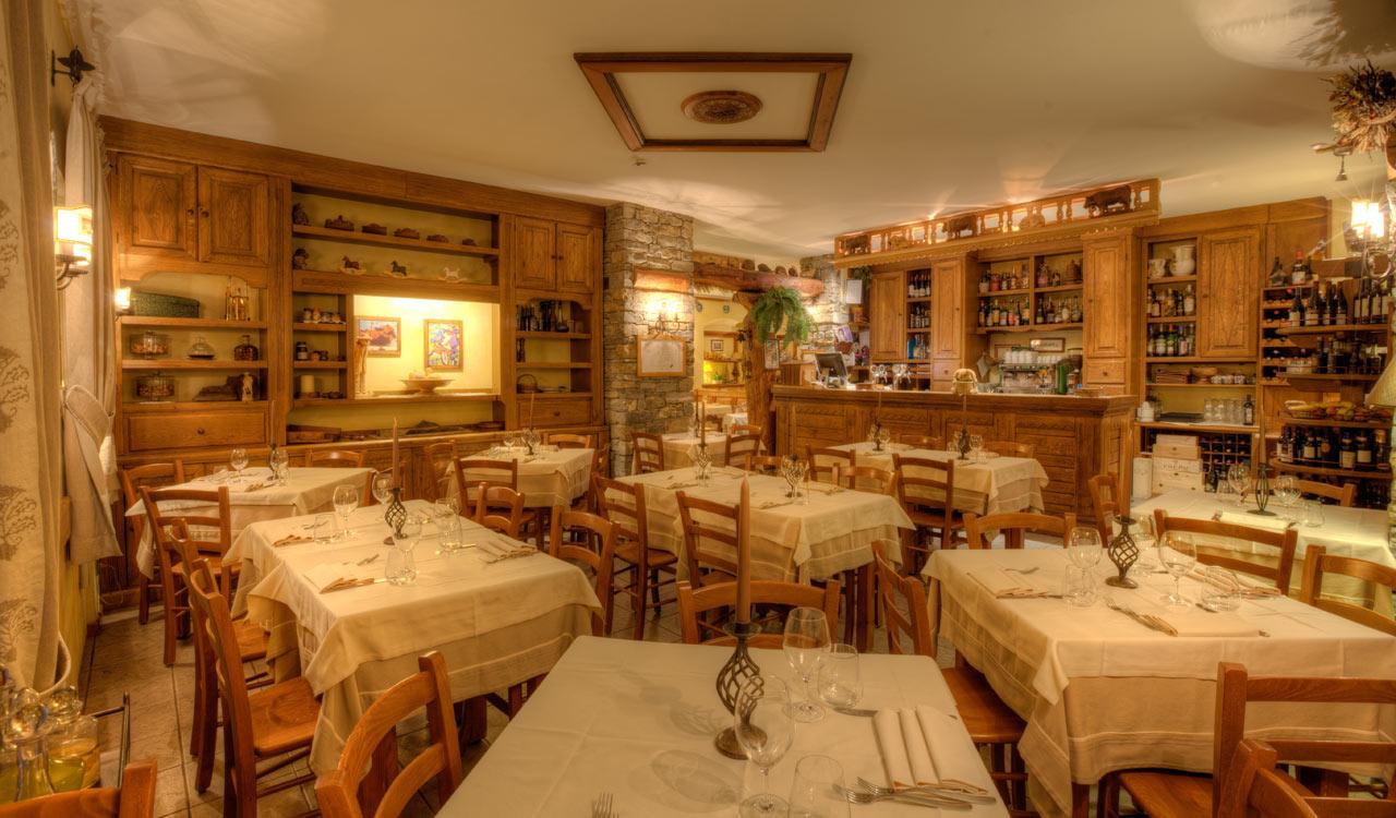 Ristorante La Terrazza - Courmayeur: It