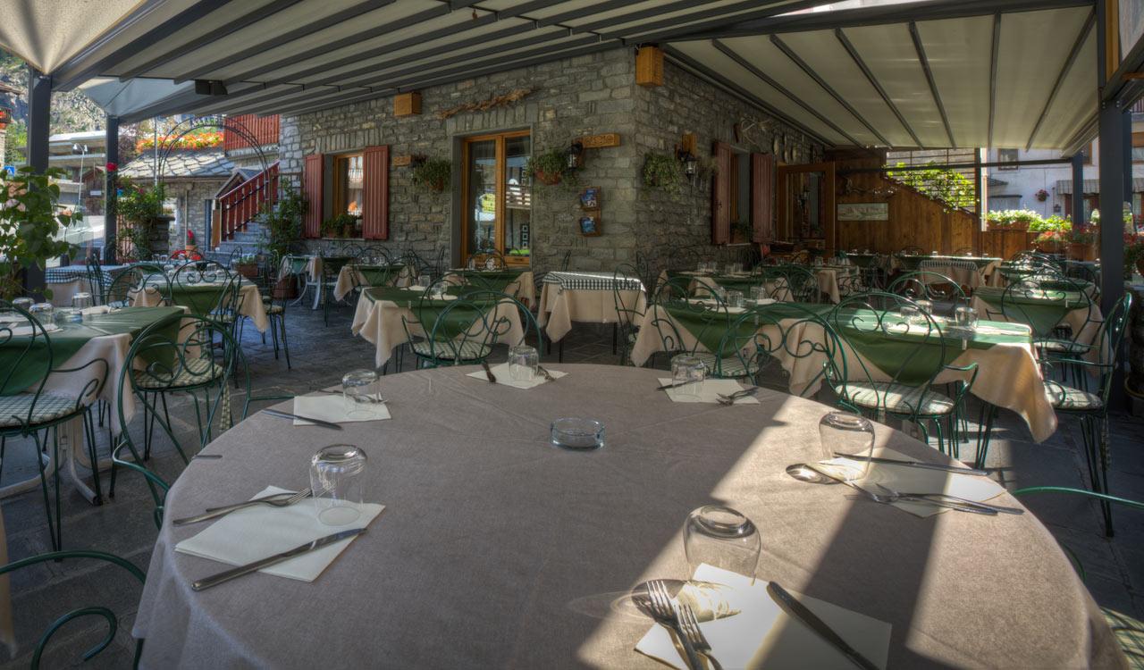 Ristorante La Terrazza - Courmayeur: Ristorante